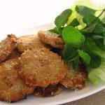 Cách làm chả cá khoai tây chiên giòn