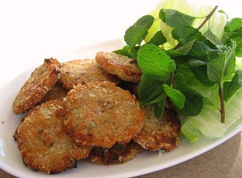 Chả cá khoai tây chiên giòn